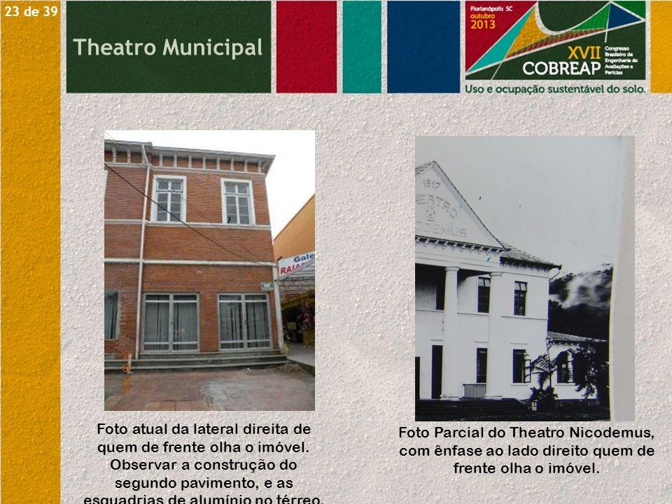23 de 39 Theatro Municipal.