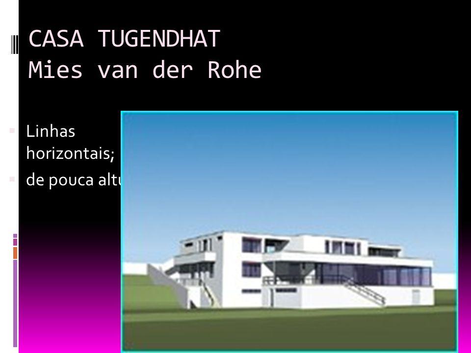 A arquitetura e a escultura modernas ppt carregar - Casa tugendhat mies van der rohe ...