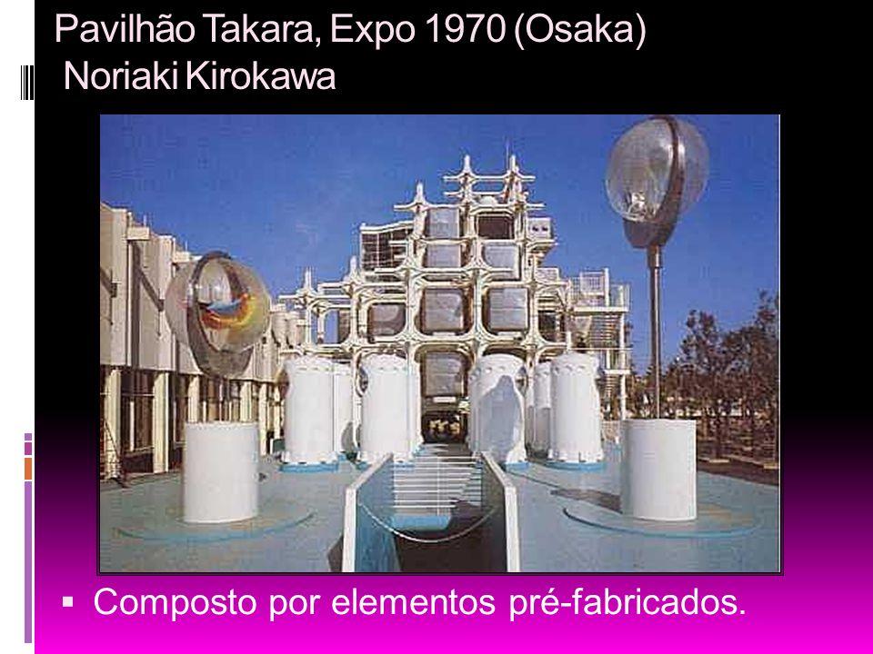Pavilhão Takara, Expo 1970 (Osaka) Noriaki Kirokawa