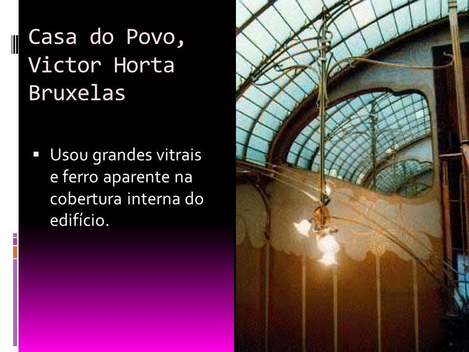 Casa do Povo, Victor Horta Bruxelas