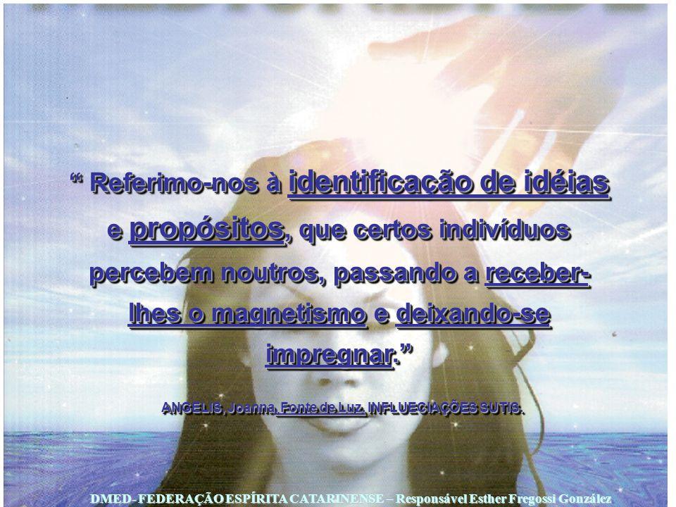 ANGELIS, Joanna, Fonte de Luz, INFLUECIAÇÕES SUTIS.