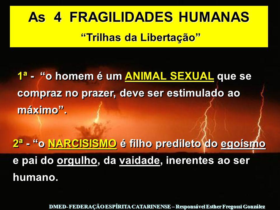 As 4 FRAGILIDADES HUMANAS Trilhas da Libertação