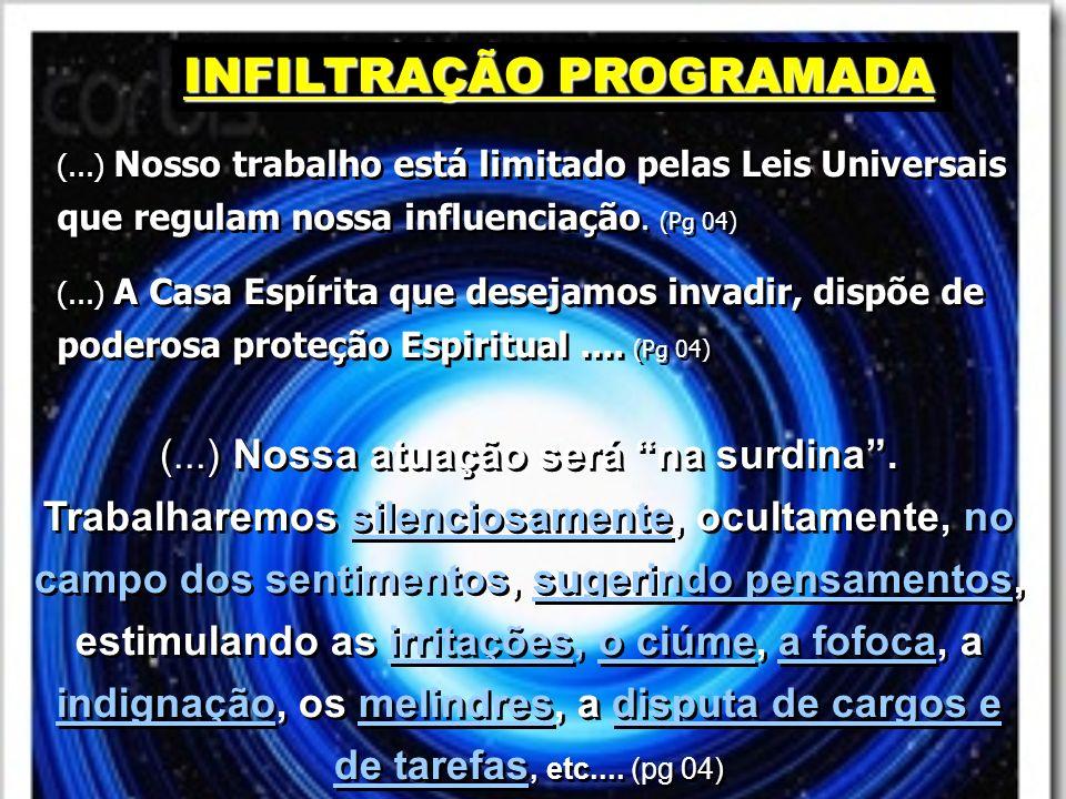 INFILTRAÇÃO PROGRAMADA