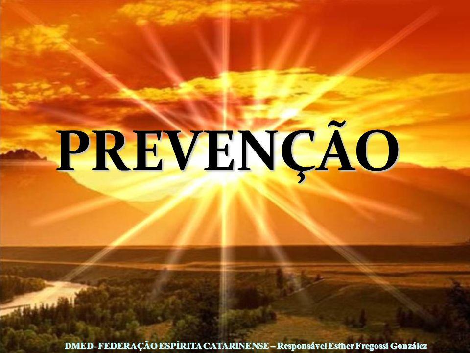 PREVENÇÃO DMED- FEDERAÇÃO ESPÍRITA CATARINENSE – Responsável Esther Fregossi González