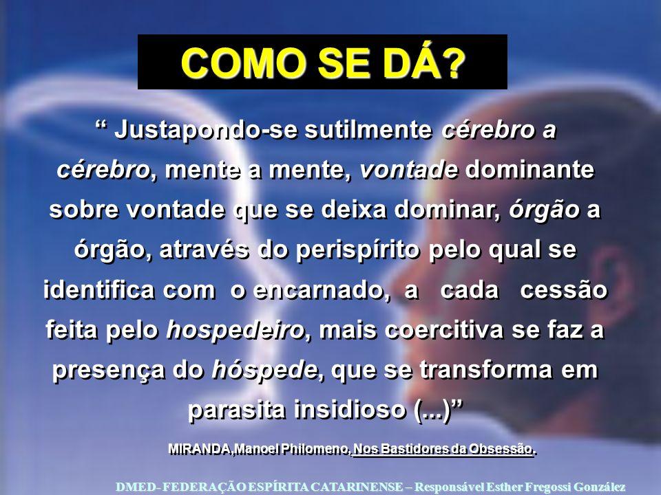 MIRANDA,Manoel Philomeno, Nos Bastidores da Obsessão.