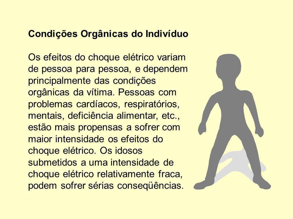 Condições Orgânicas do Indivíduo