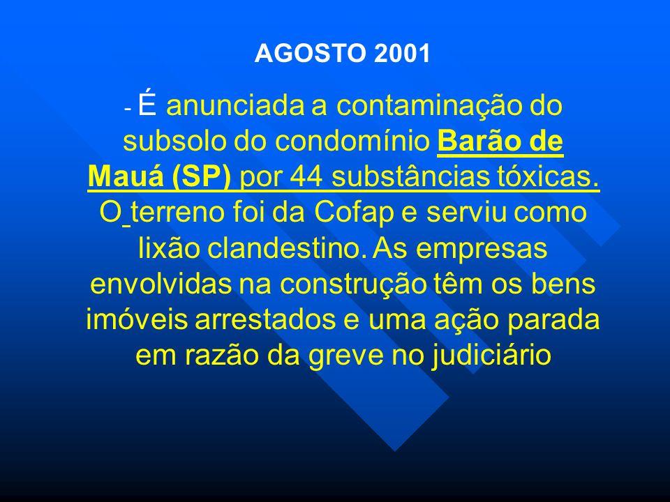 AGOSTO 2001
