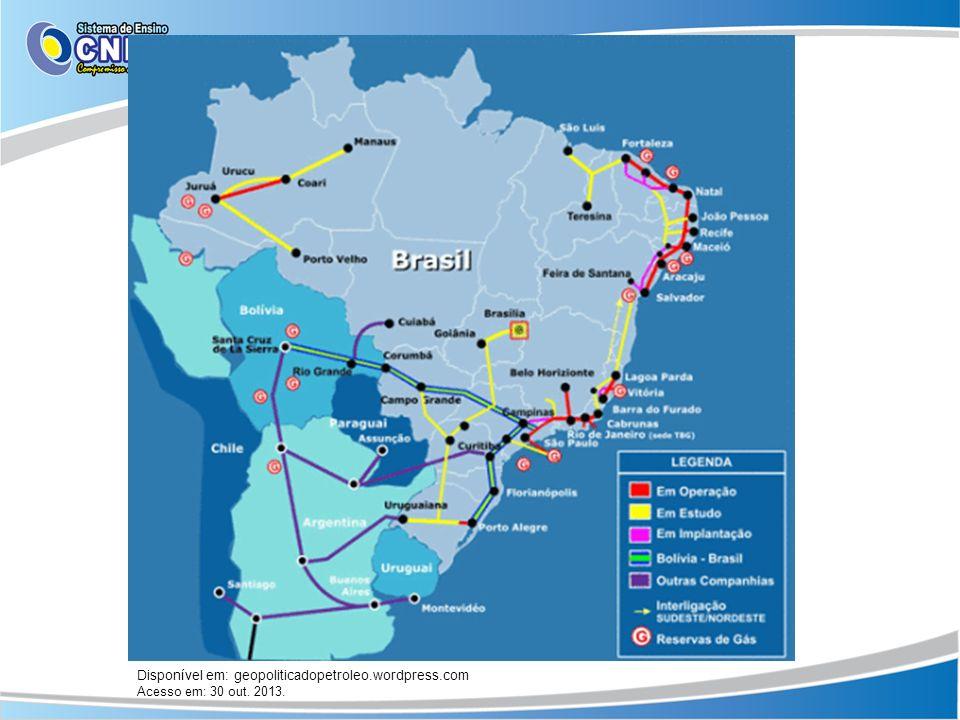 Disponível em: geopoliticadopetroleo.wordpress.com