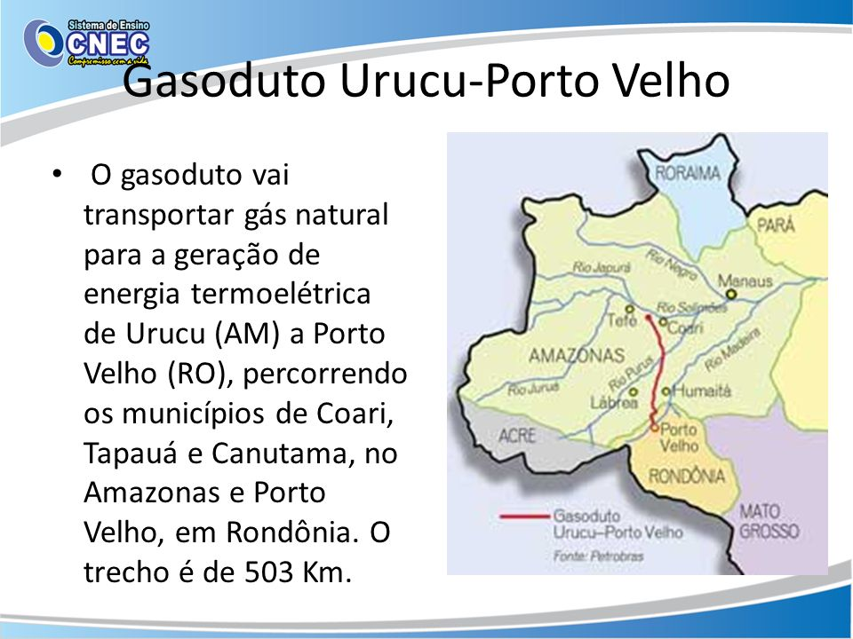 Gasoduto Urucu-Porto Velho