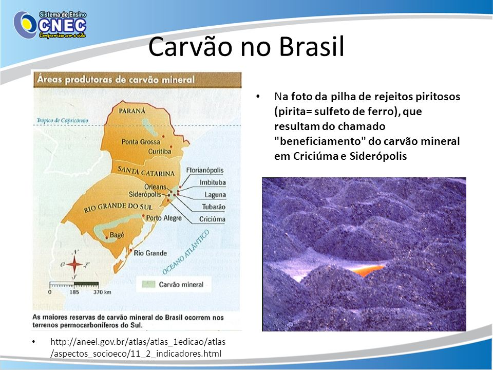 Carvão no Brasil