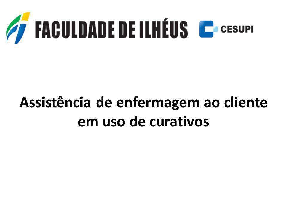 Assistência de enfermagem ao cliente em uso de curativos