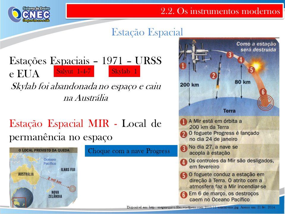 Skylab foi abandonada no espaço e caiu na Austrália