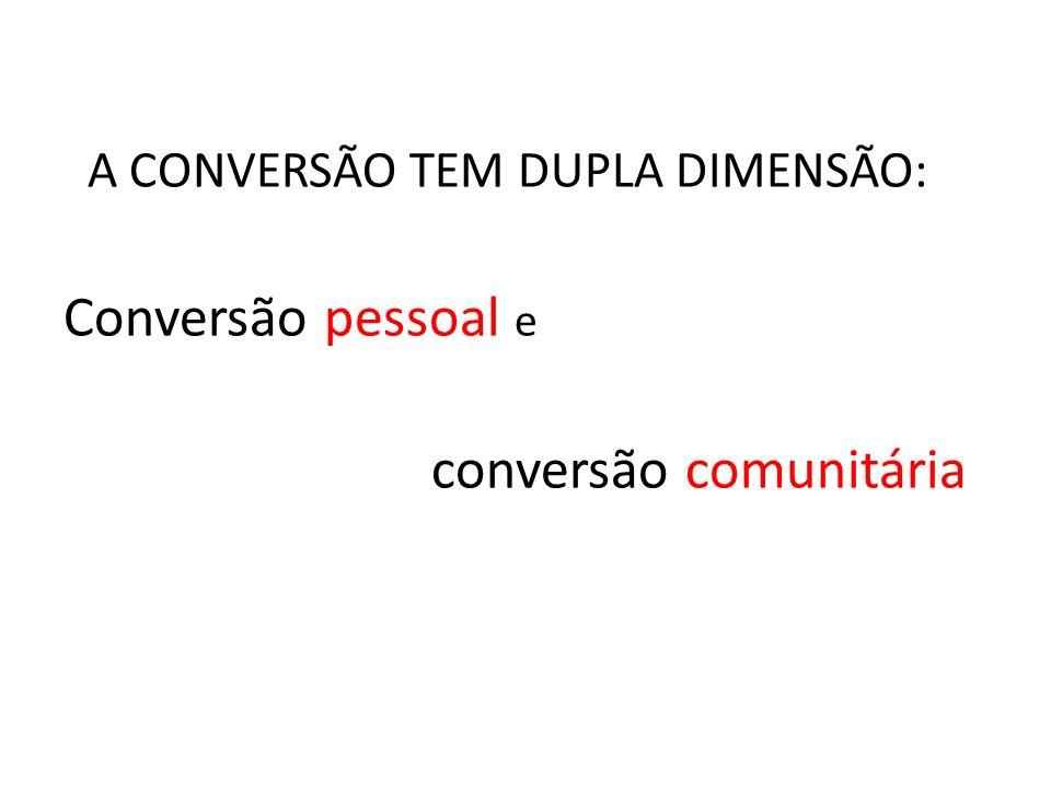 conversão comunitária