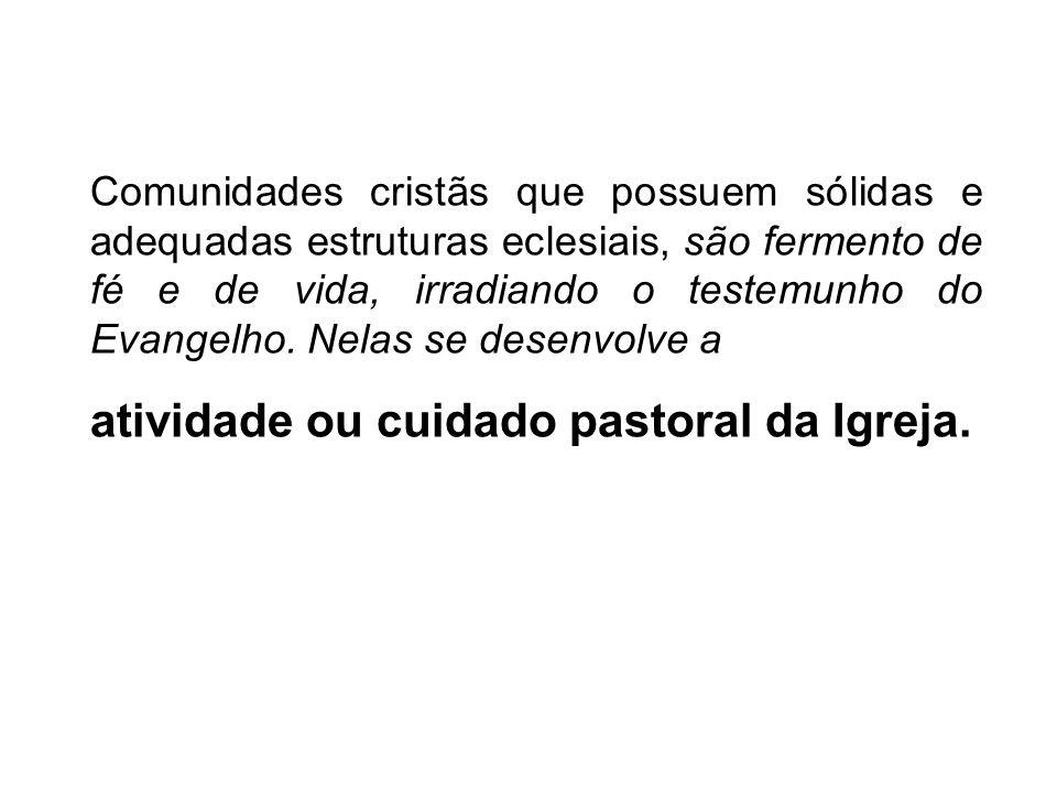 atividade ou cuidado pastoral da Igreja.