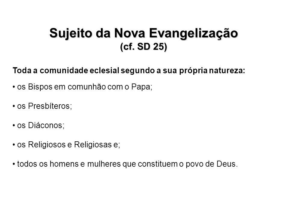 Sujeito da Nova Evangelização