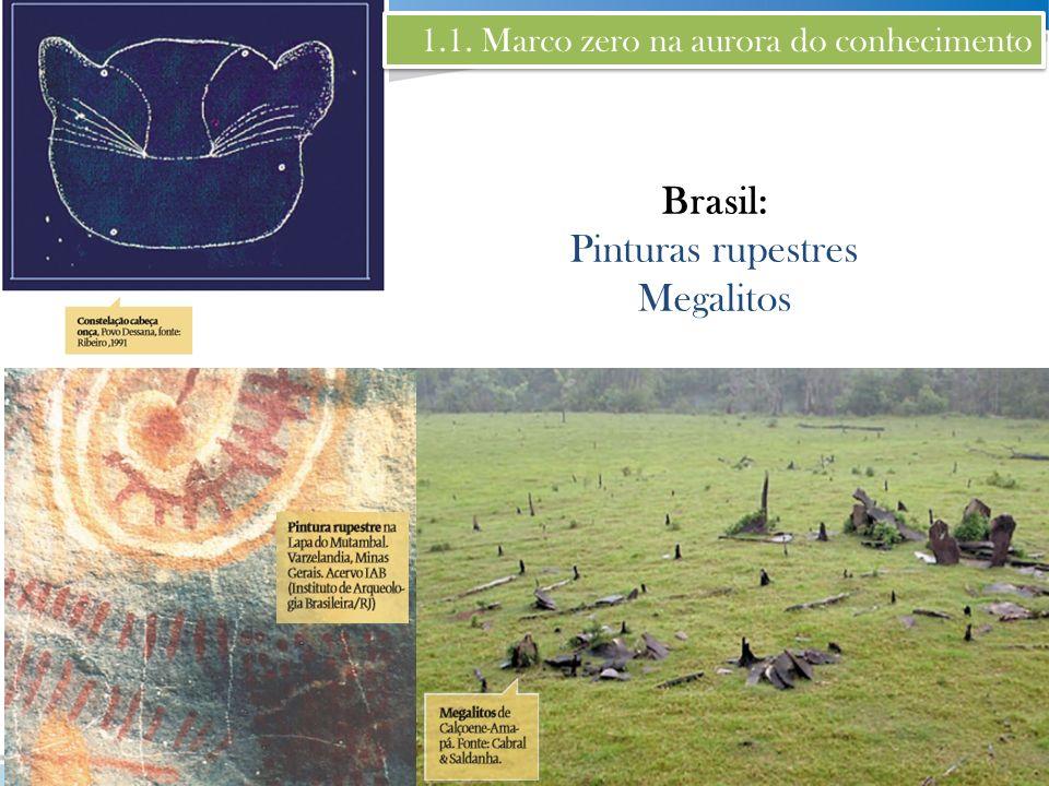 Brasil: Pinturas rupestres Megalitos
