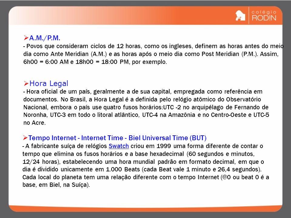 Tempo Internet - Internet Time - Biel Universal Time (BUT)