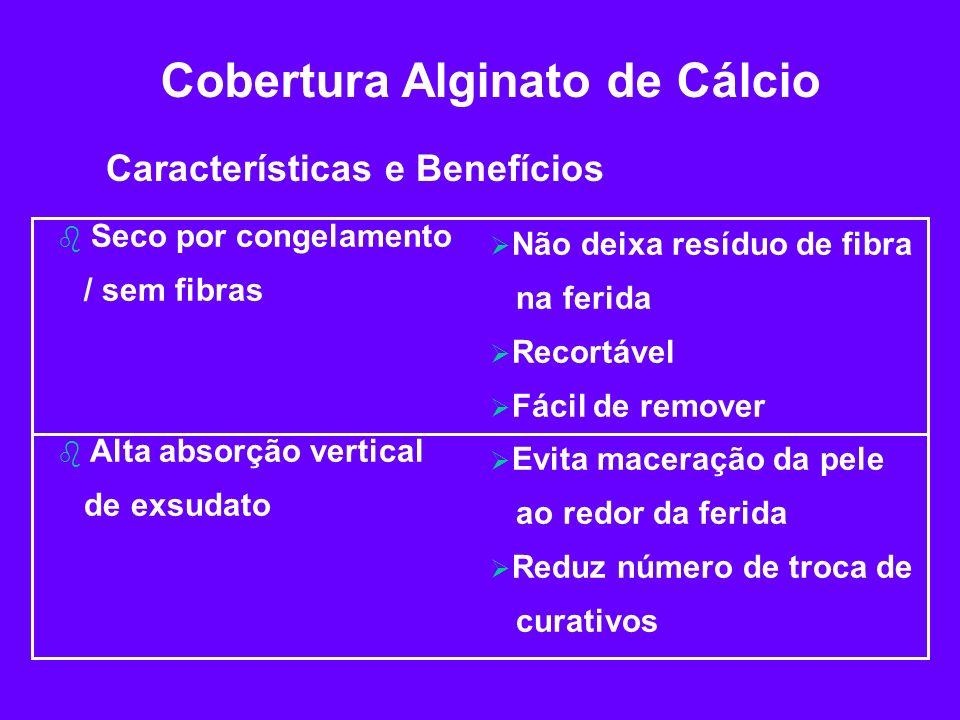 Cobertura Alginato de Cálcio
