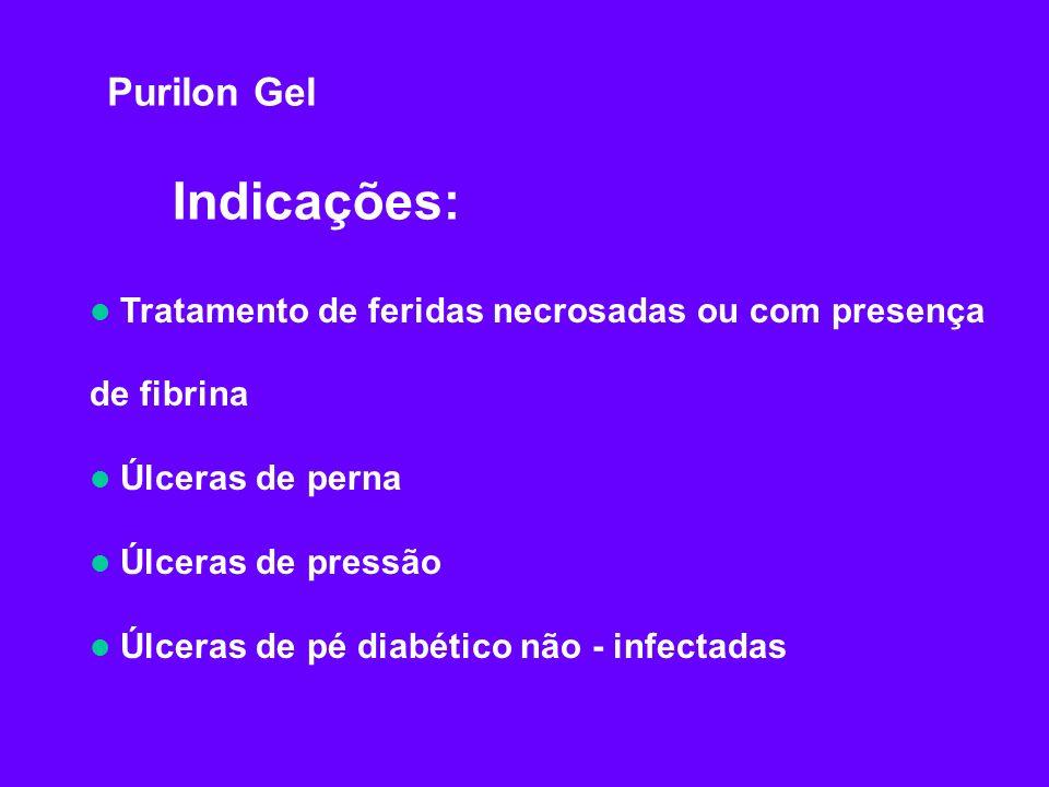 Indicações: Purilon Gel