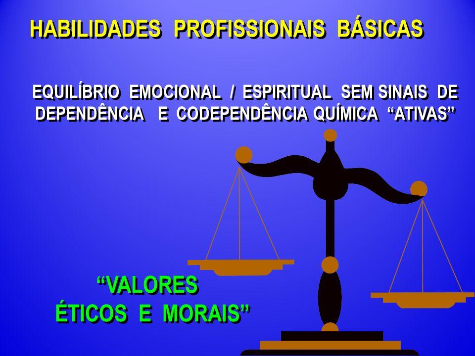 HABILIDADES PROFISSIONAIS BÁSICAS