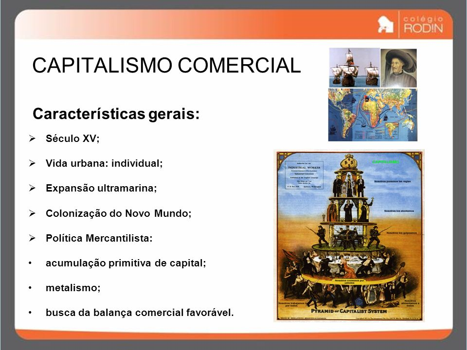 CAPITALISMO COMERCIAL