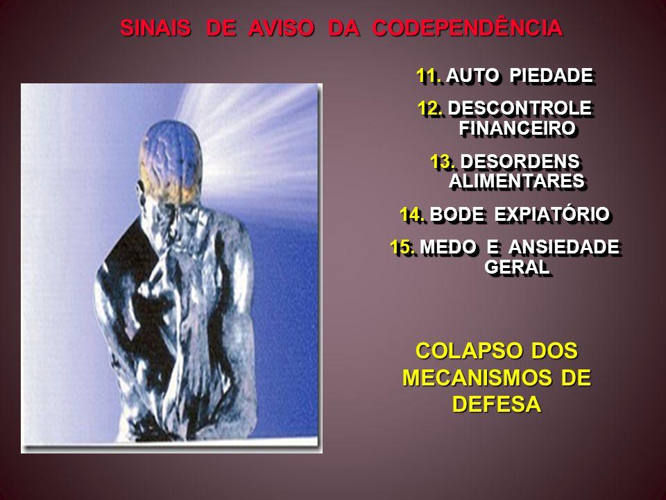 COLAPSO DOS MECANISMOS DE DEFESA
