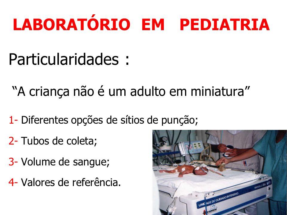 LABORATÓRIO EM PEDIATRIA