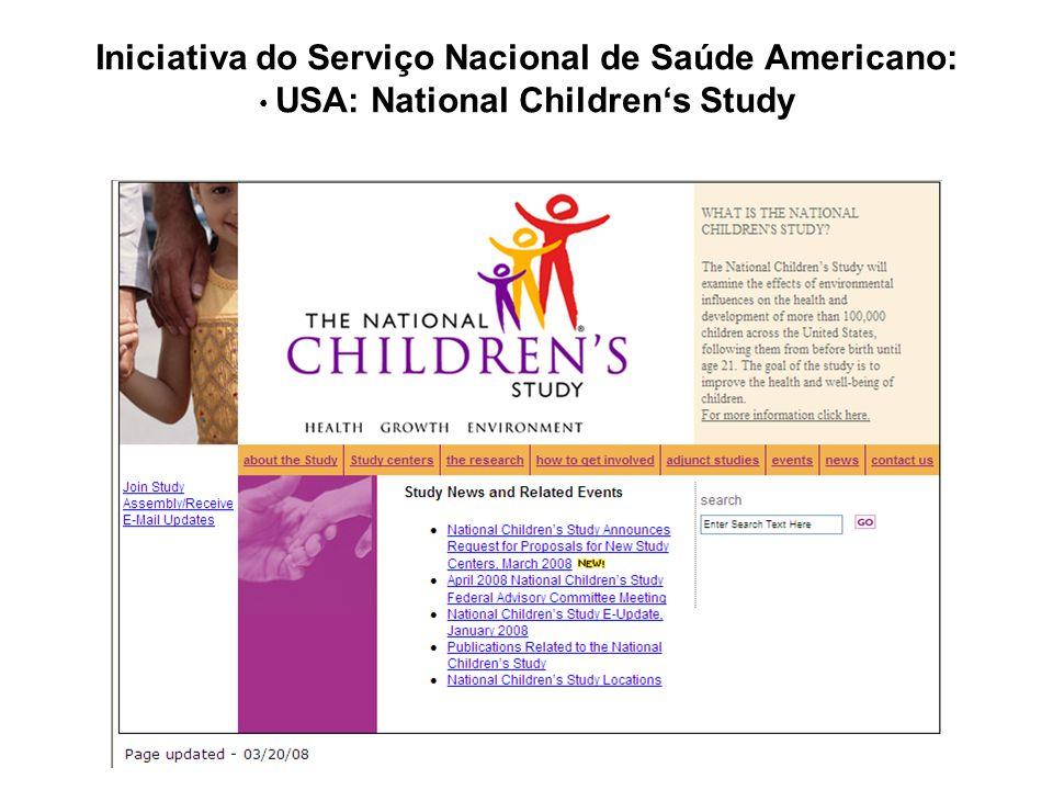 Iniciativa do Serviço Nacional de Saúde Americano: