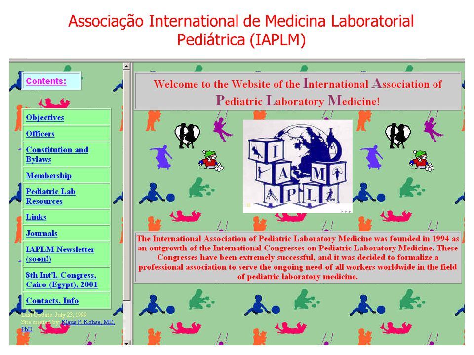 Associação International de Medicina Laboratorial Pediátrica (IAPLM)