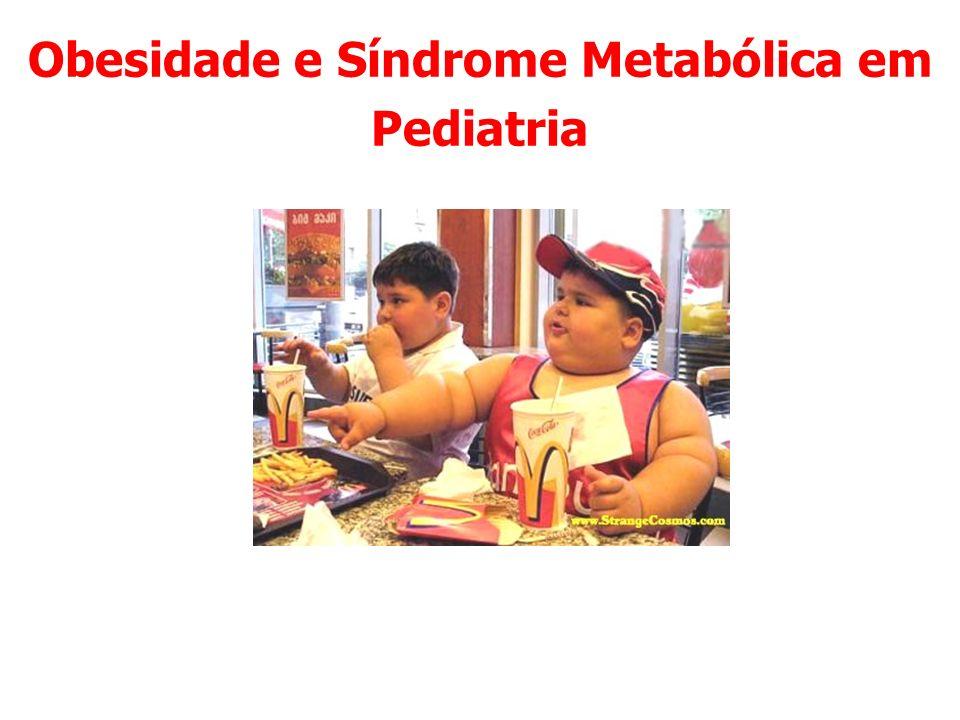 Obesidade e Síndrome Metabólica em Pediatria