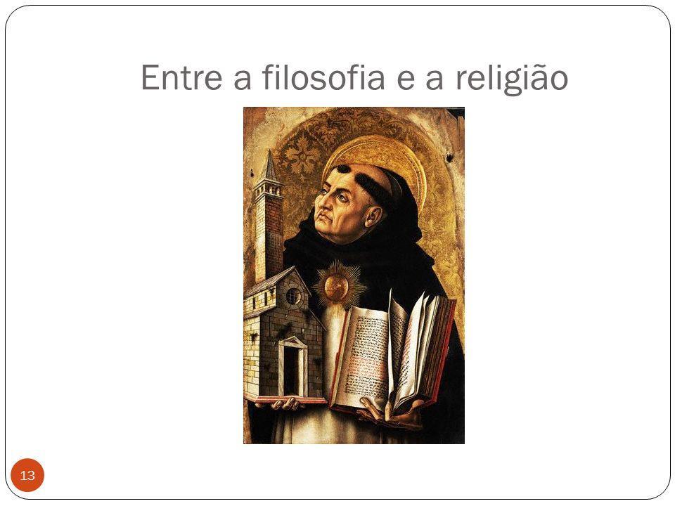 Entre a filosofia e a religião