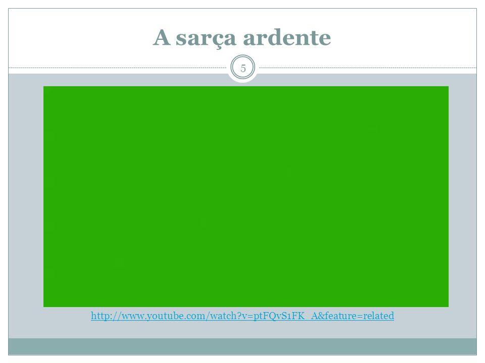 A sarça ardente http://www.youtube.com/watch v=ptFQvS1FK_A&feature=related