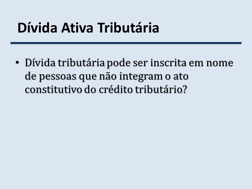Dívida Ativa Tributária