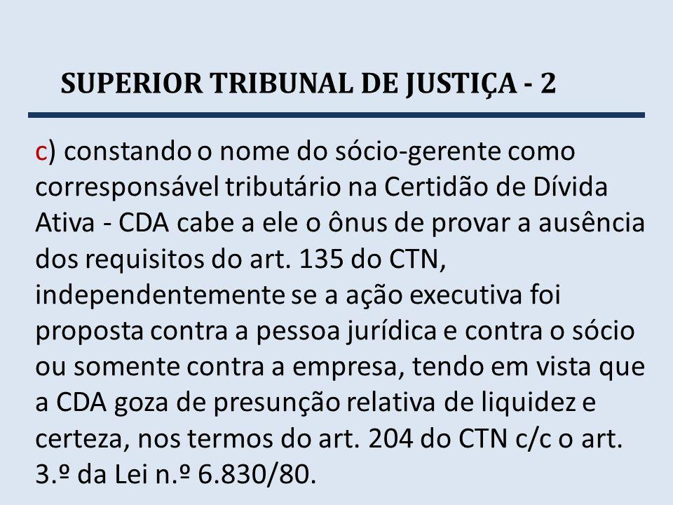 SUPERIOR TRIBUNAL DE JUSTIÇA - 2