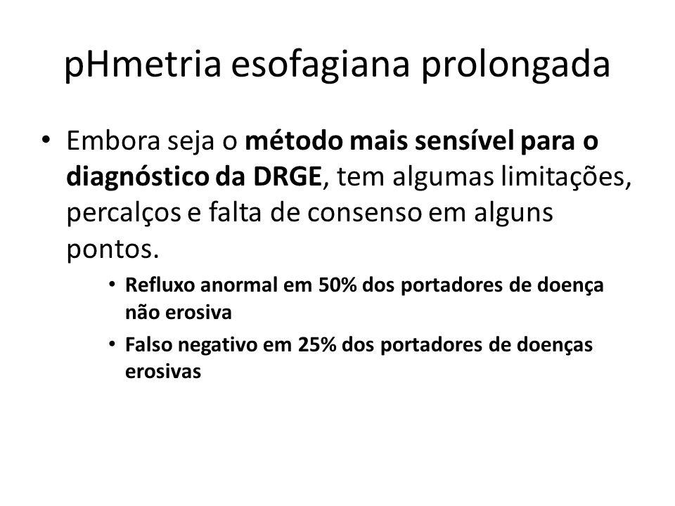 pHmetria esofagiana prolongada