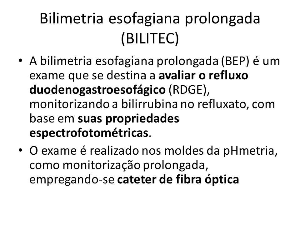 Bilimetria esofagiana prolongada (BILITEC)