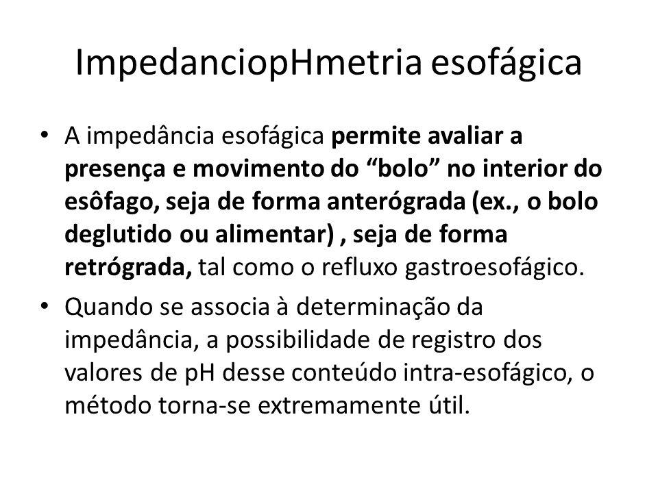 ImpedanciopHmetria esofágica