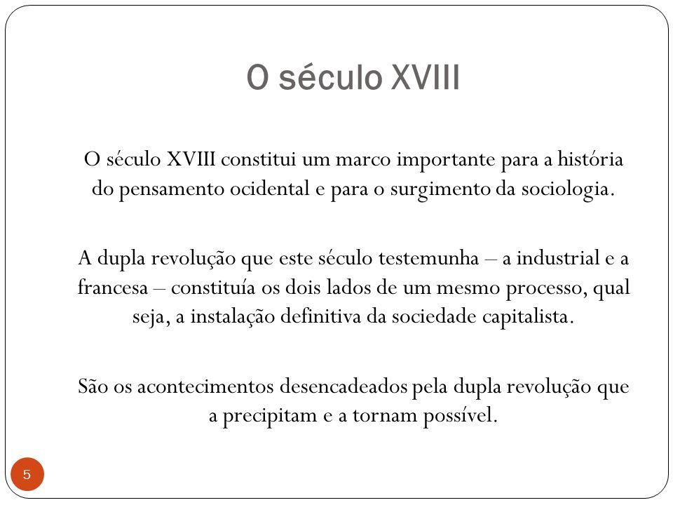 O século XVIII