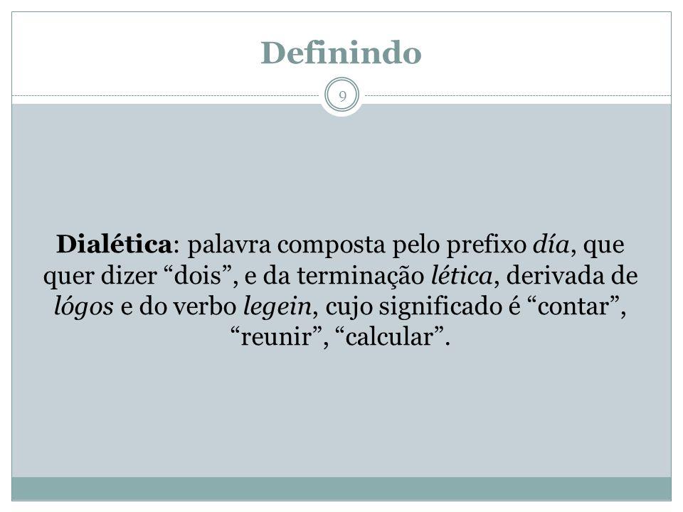 Definindo