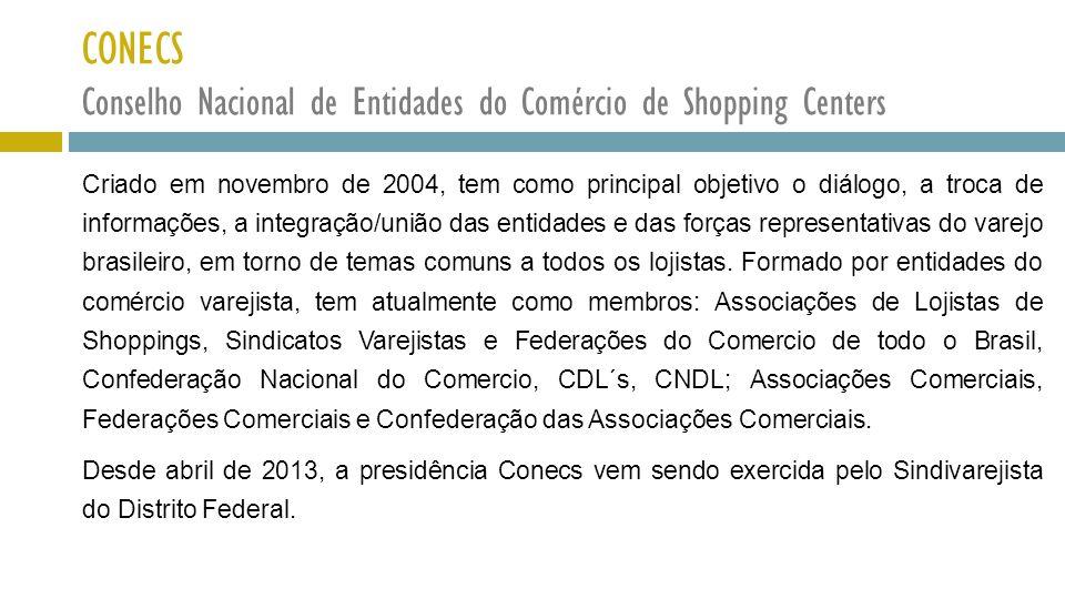 CONECS Conselho Nacional de Entidades do Comércio de Shopping Centers