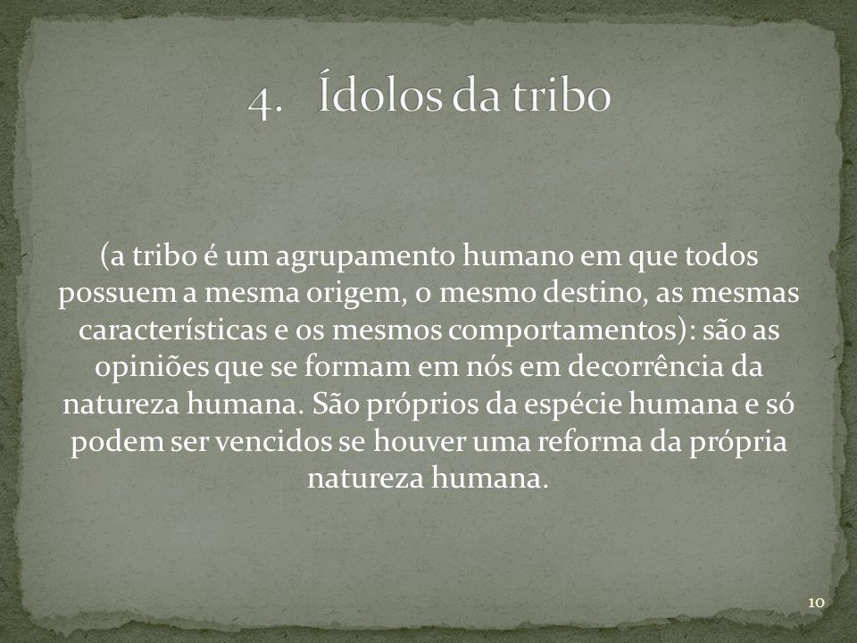 Ídolos da tribo