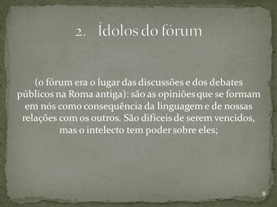 Ídolos do fórum