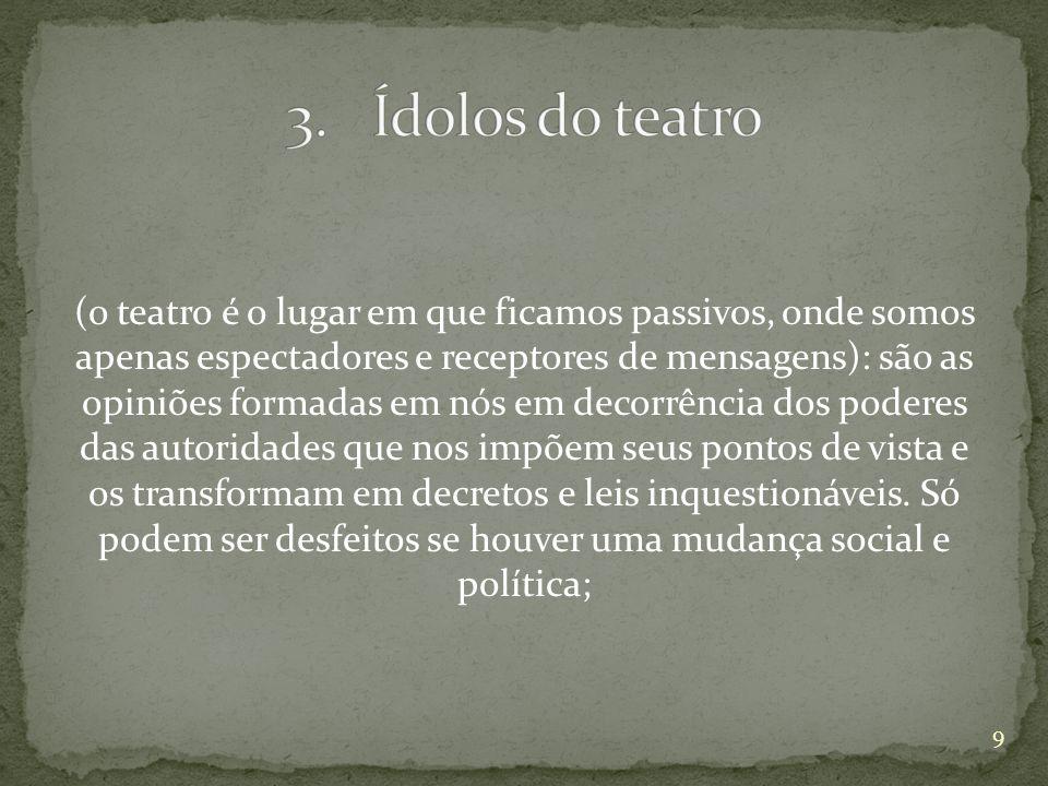 Ídolos do teatro