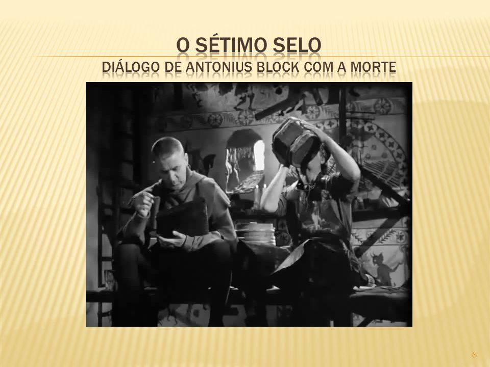 O sétimo selo diálogo de antonius block com a morte