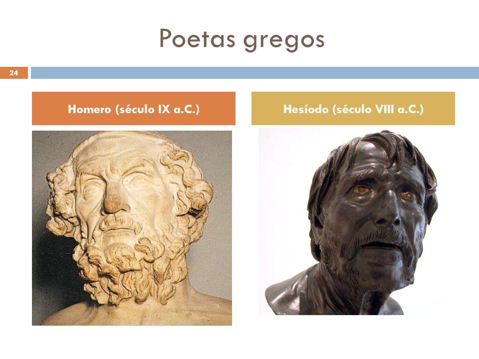 Hesíodo (século VIII a.C.)