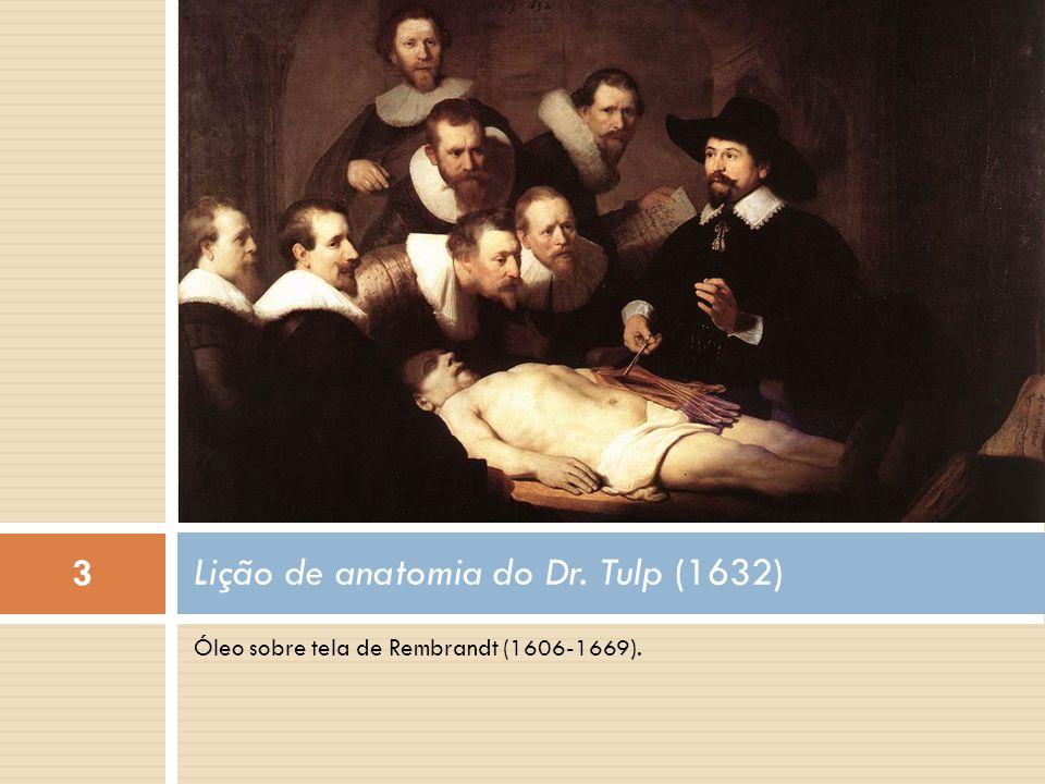 Lição de anatomia do Dr. Tulp (1632)