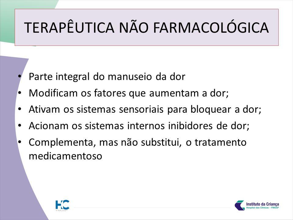 TERAPÊUTICA NÃO FARMACOLÓGICA