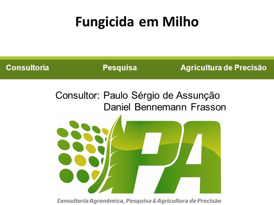 Fungicida em Milho Consultor: Paulo Sérgio de Assunção