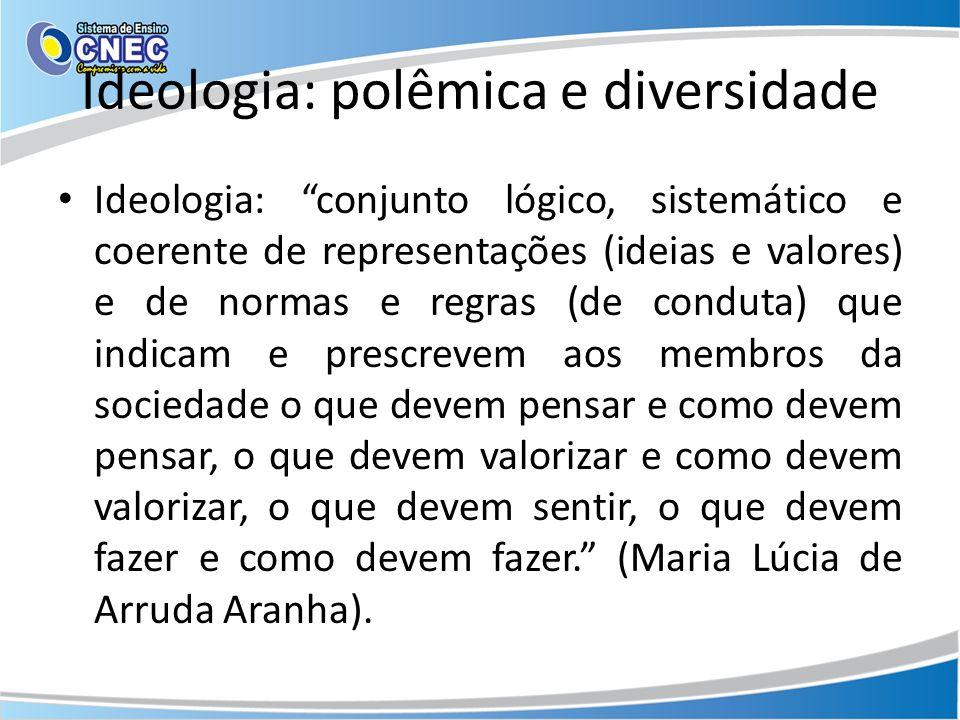 Ideologia: polêmica e diversidade