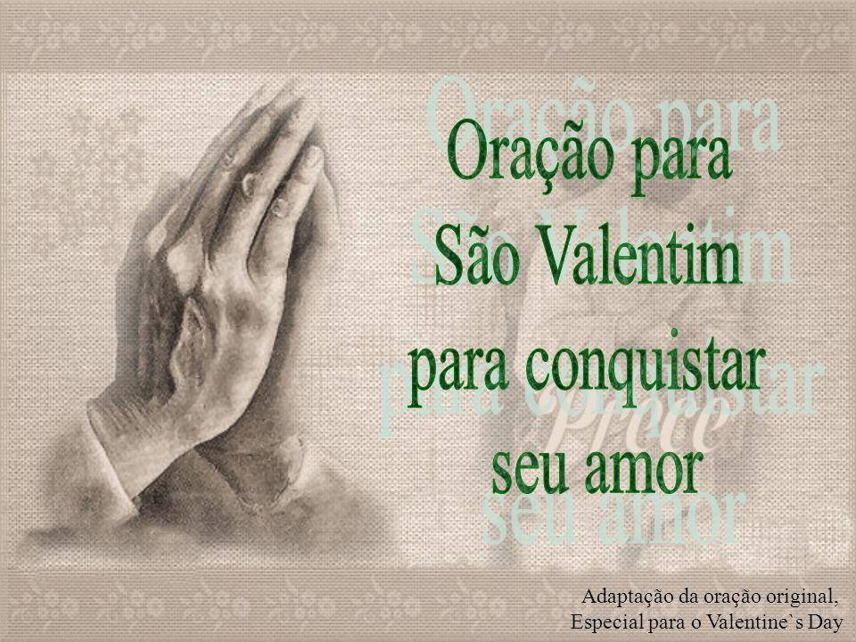 Oração para São Valentim para conquistar seu amor